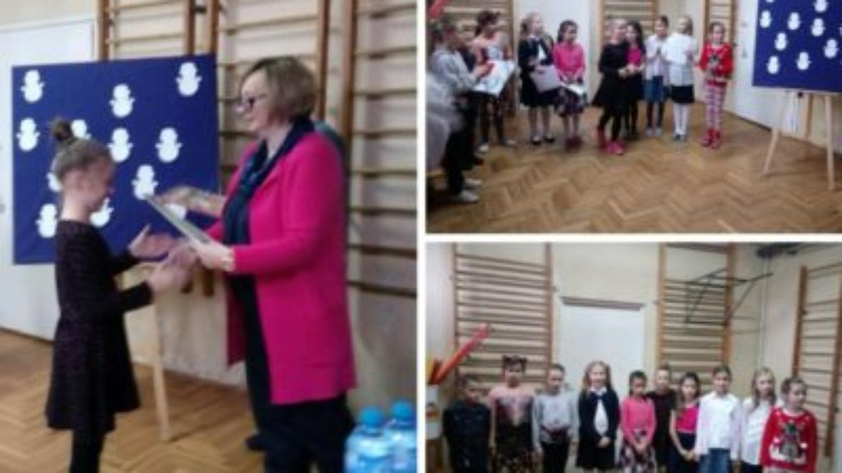 Wiersz O świętach Szkoła Podstawowa Nr 16 W Gdyni